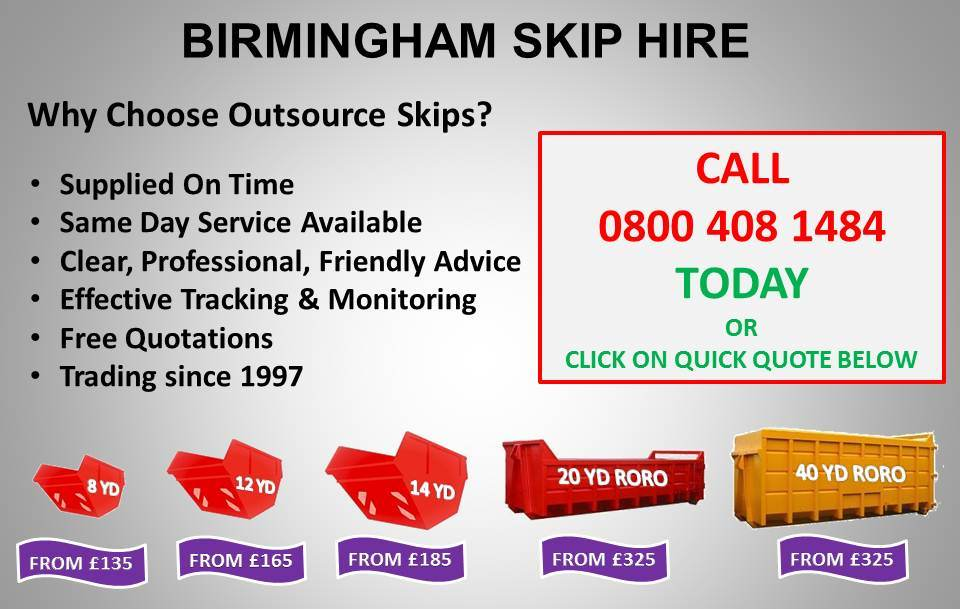 outsource corporation skip hire birmingham. Black Bedroom Furniture Sets. Home Design Ideas